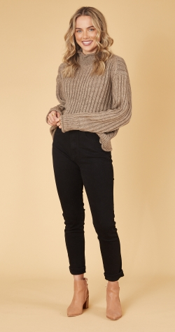 Rory Knit - Brown