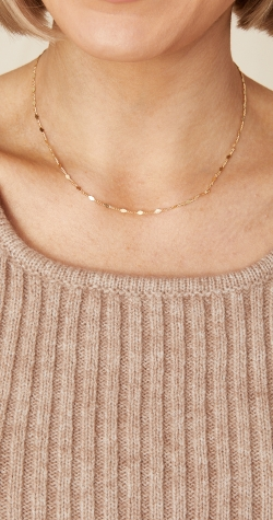 Jane Necklace - Gold