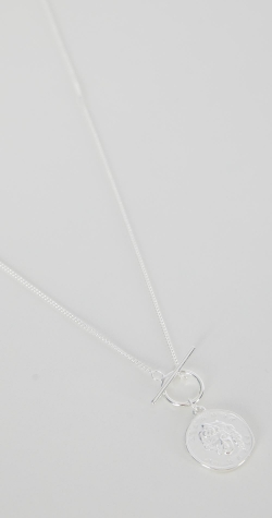 Spell Silver Plated Necklace