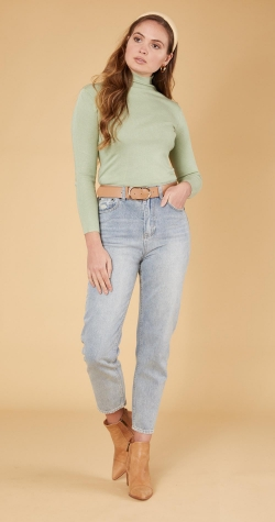 Valentina Knit - Mint