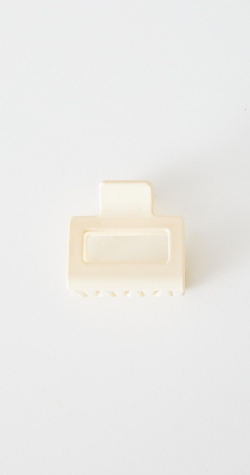 Dash Hair Clip - Cream
