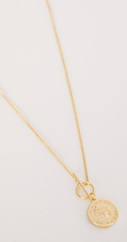 Spell Gold 18ct Plated Necklace