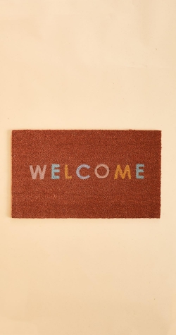 Leave it at the Door Mat - WELCOME